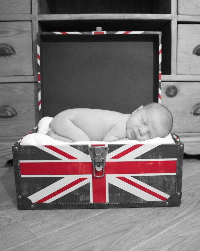 Jude - Red Union jack